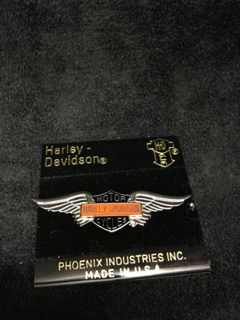 Harley Davidson Wing Bar&Shield  Pin 90\'s