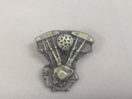 Vintage Harley Davidson KnuckleHead Pin