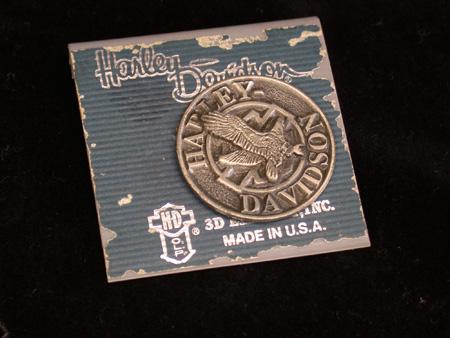 Vintage Harley Davidson 3D Pin