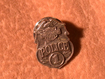 Harley Davidson Police Pin