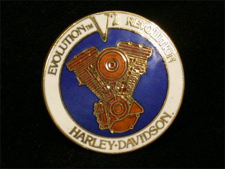 Evolution V2 Revolution Harley Davidson Pin
