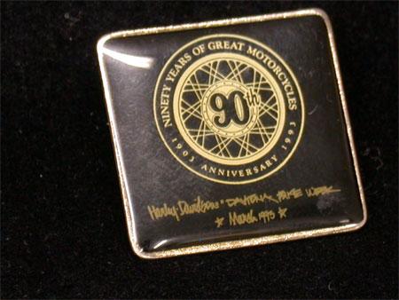 H-D 90th Anniversary 1993 Daytona Rally Pin