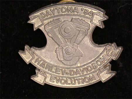 1984 Daytona Rally Pin