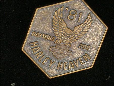 1981 Daytona Rally Pin