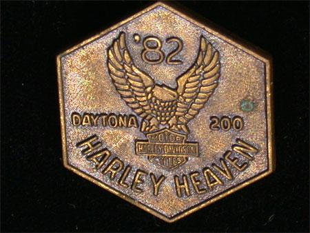 1982 Daytona Rally Pin