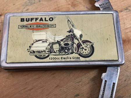 Harley Davidson Buffalo Dealer Pocket Knife