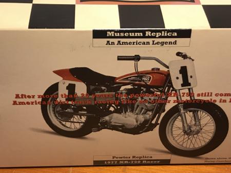Harley Davidson Pewter XR Racer