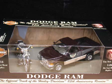 95th Anniversary Dodge Ram/Heritage Softail