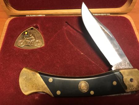 AMA Shrade Folder Knife