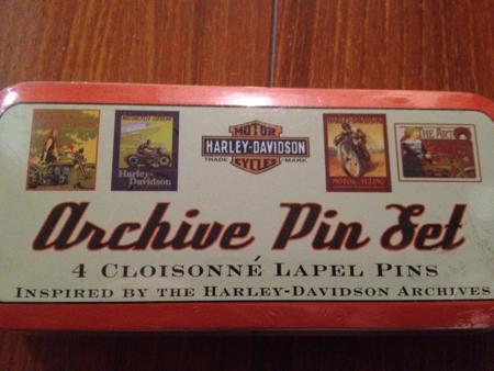 Harley Davidson cloisonne lapel pins