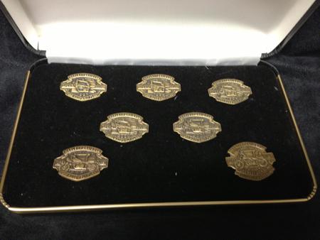 Harley Davidson Commemorative Pins