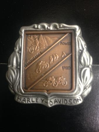 HARLEY DAVIDSON ENDURANCE,POWER,SPEED PIN