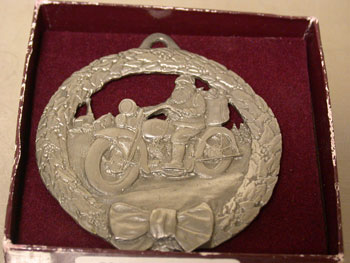1988 Pewter Ornament 1st Issue