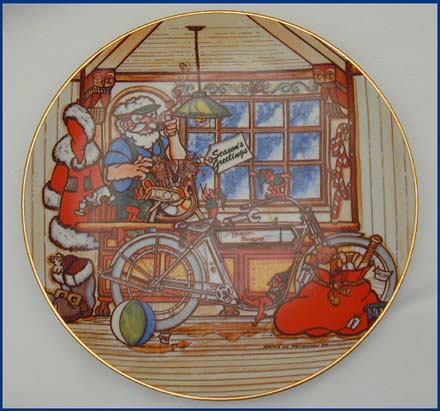 1984 Christmas Plate