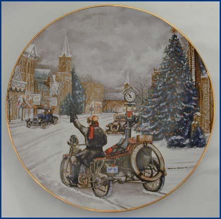 1986 Christmas Plate