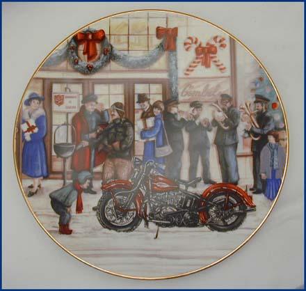 1987 Christmas Plate