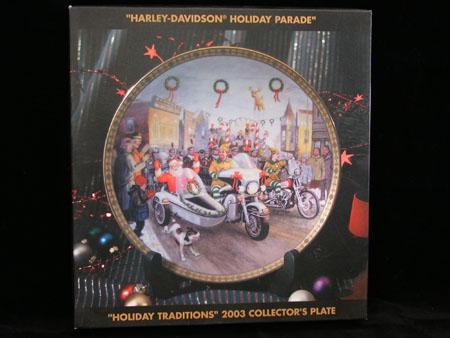 Holiday Parade 2003 XMAS Plate