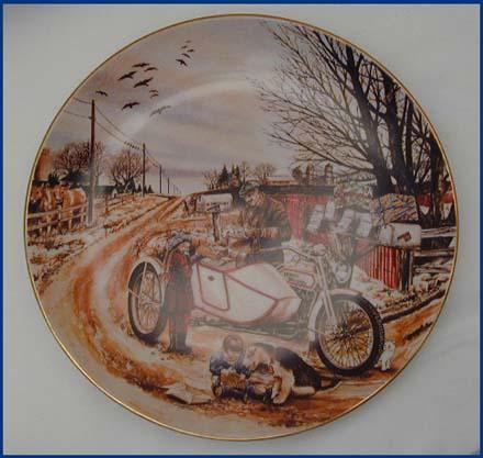1990 Christmas Plate