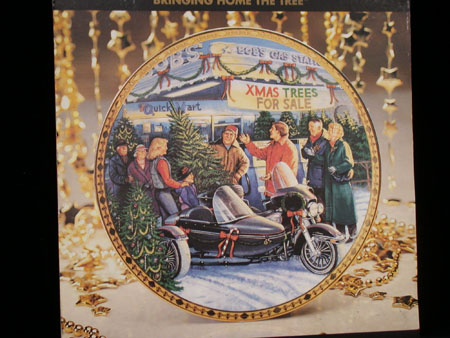 Bringing Home the Tree Christmas Plate
