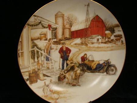 Christmas Vacation Christmas Plate