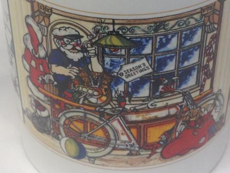 HD 1984 1909 V-Twin Christmas Mug