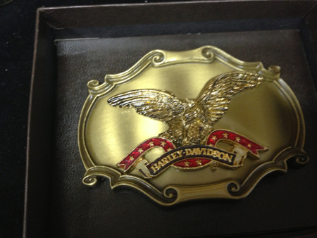 Harley-Davidson Raintree Buckle