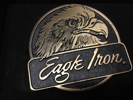 Harley Davision Eagle Iron Buckle