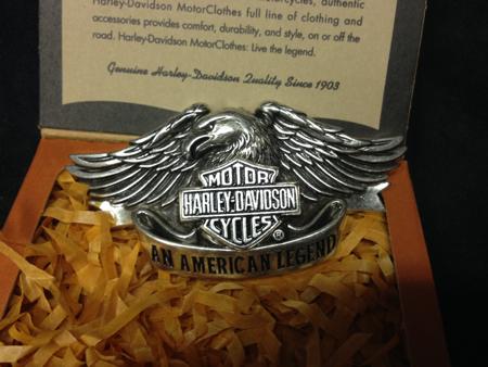 Harley Davision American Legend Buckle