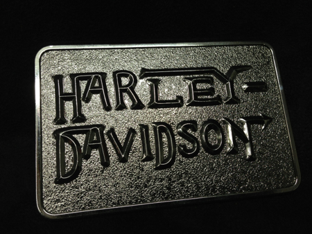 Harley-Davidson 2003 Steel and Chromed Buckle