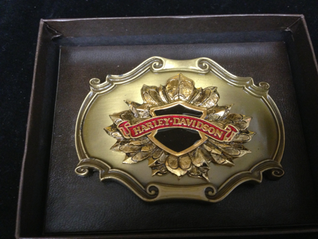 Harley Davidson  Raintree Buckle NIB