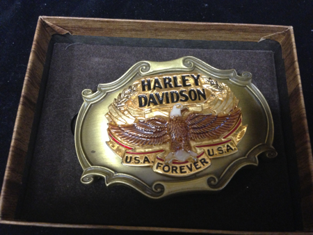 Harley Davidson  Raintree Buckle