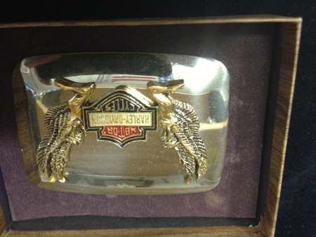 Harley Davidson Angels Holding Bar and Shield