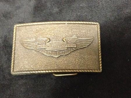 Vintage Wing Harley Davidson Buckle