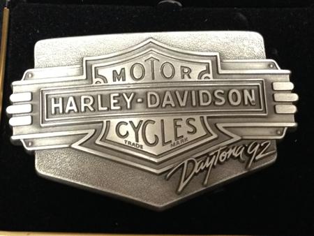 Harley-davidson 1992 Daytona Buckle