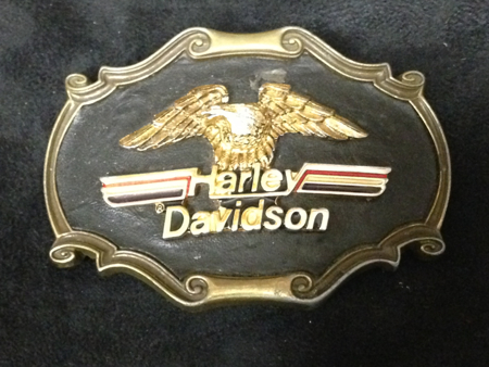 Vintage Harley Raintree Buckle