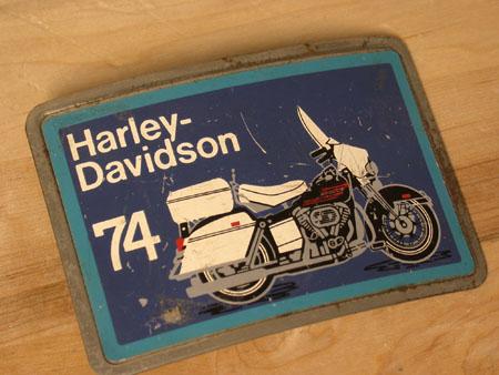Harley  74 vintage Electra glide Buckle