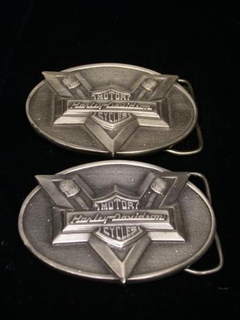Harley Davidson Pewter Buckle