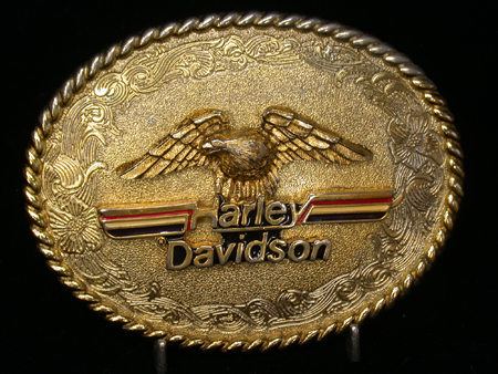 1978 Raintree Harley Davidson Buckle