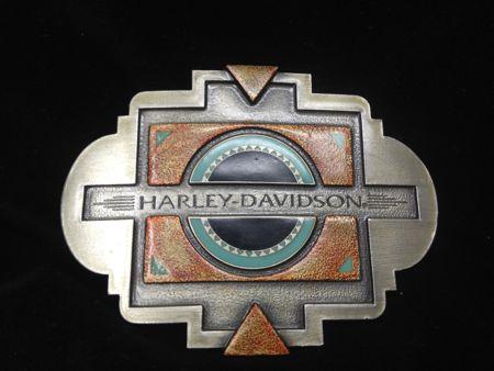 Harley Davidson Southwest Buckle 1996 #2