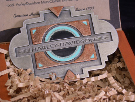 Harley SouthWest Black Sun Buckle