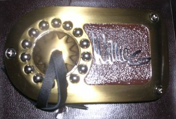 Willie G Belt Buckle (NEW)