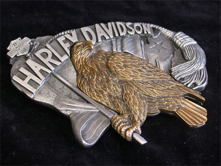 Harley Davidson  Standing proud Large Buckle