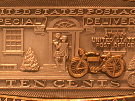U.S. Post office Stamp Buckle