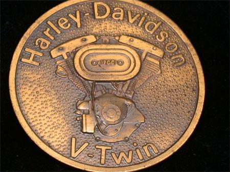 Harley Davidson V-twin Vintage Buckle