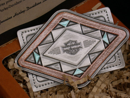 Harley SouthWest Diamond Buckle