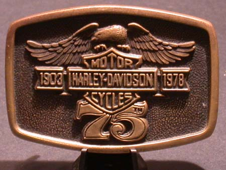 75th Anniversay Buckle