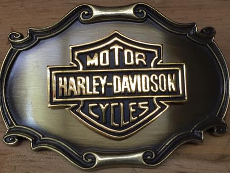 Vintage Harley Davidson Raintree Buckle