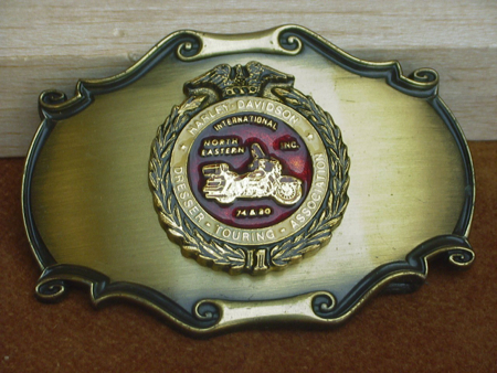 Harley Dresser Touring Association Buckle