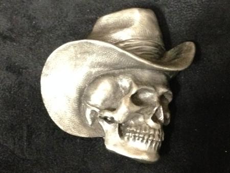Harley-davidson Skull pewter  Buckle
