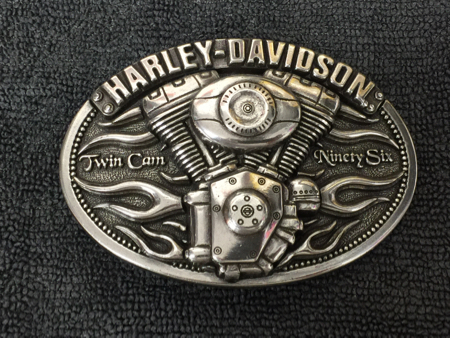 Harley Davidson Pewter twin Cam Buckle